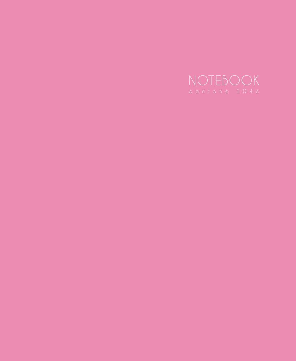 Канц-Эксмо Записная книжка Новая палитра в клетку 96 листов цвет вишневый, розовый формат А5ЕТИЛ59667Книга для записей (евротетради) А5 (167х210), 96л.