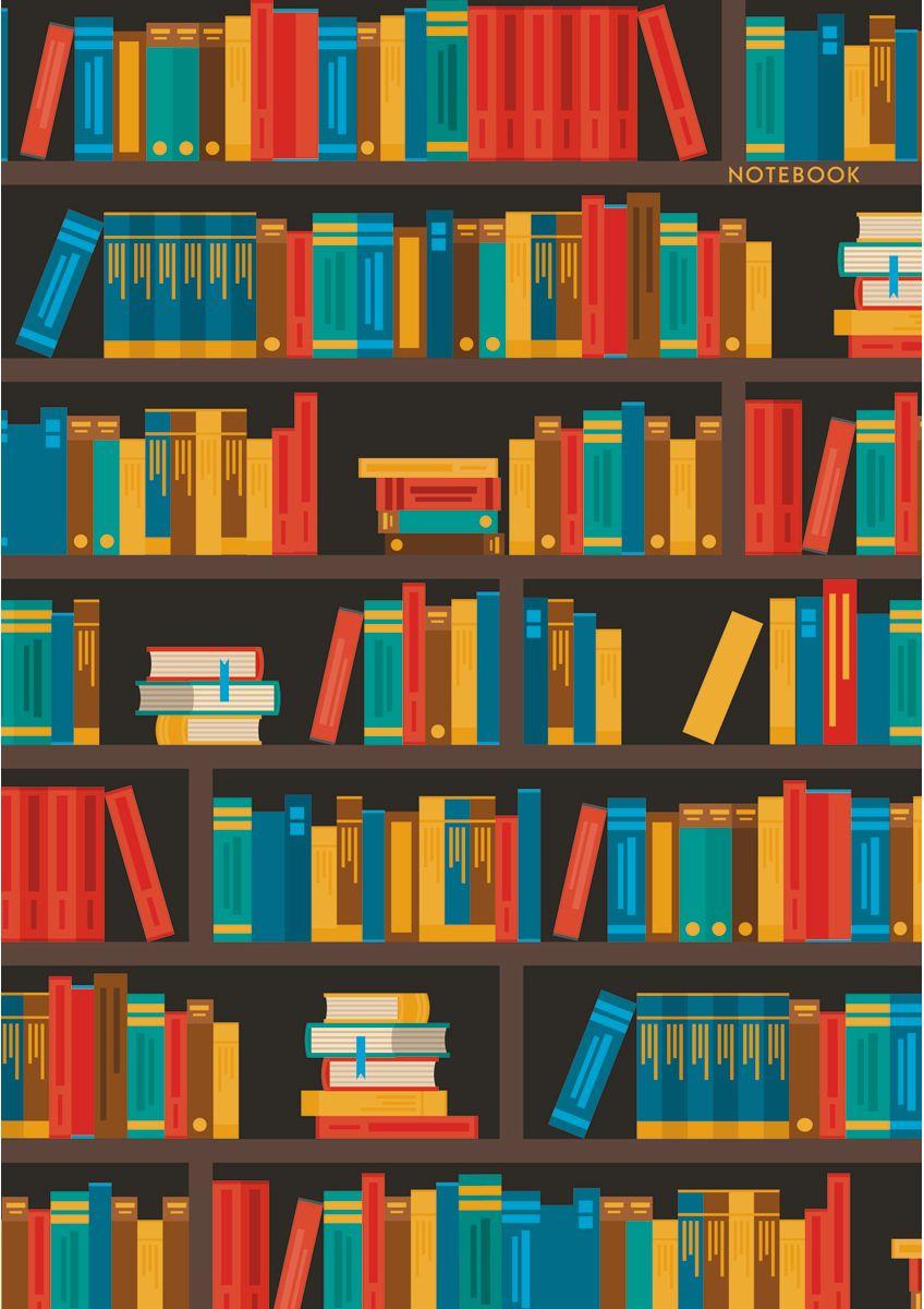 Канц-Эксмо Записная книжка Графика Коллекция книг в клетку 100 листов формат А4КЗ41002282Книга для записей А4 (210х290), 100л.