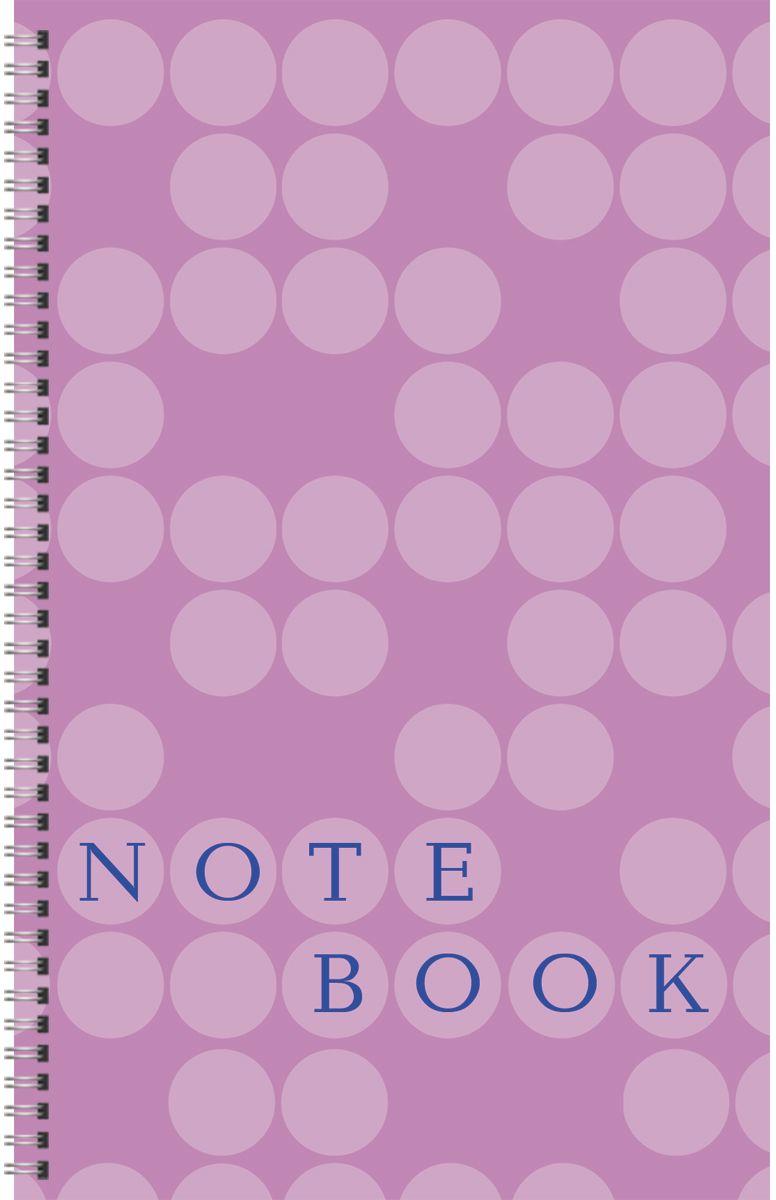 Канц-Эксмо Тетрадь Офисный стиль 80 листов в клетку цвет сиреневый формат A6 книги эксмо сыны анархии братва