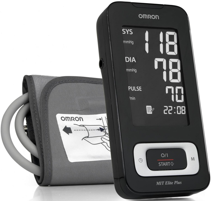 Omron Mit Elite Plus тонометр omron mit elite plus hem 7301 itke7 blood pressure monitor home health care heart beat meter machine tonometer automatic digital