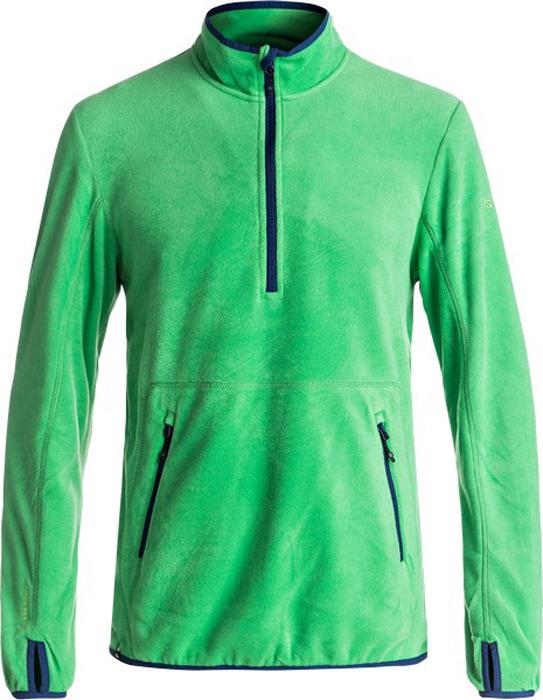 Джемпер мужской Quiksilver, цвет: зеленый. EQYFT03625-GNK0. Размер XXL (54)EQYFT03625-GNK0