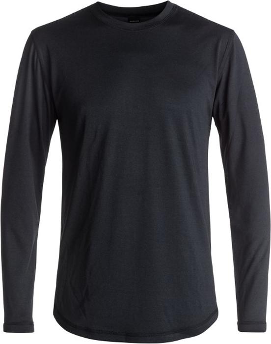 Лонгслив мужской Quiksilver, цвет: черный. EQYLW03030-KVJ0. Размер M (48)EQYLW03030-KVJ0Лонгслив Quiksilver выполнен из материала Polartec Power Dry с антимикробной обработкой ткани. Быстро сохнет, хорошие дышащие свойства и хорошие влаговыводящие свойства.