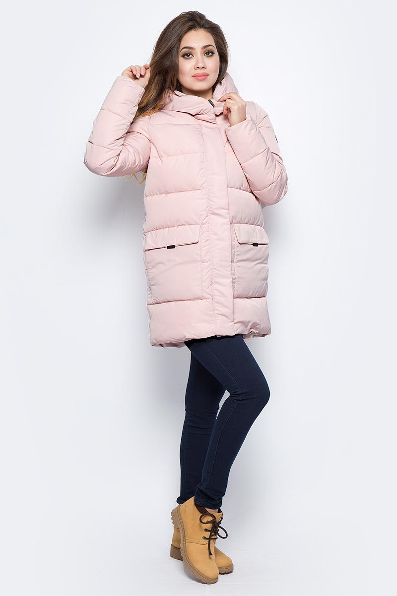 Куртка женская Grishko, цвет: розовый. AL - 3294. Размер 48AL - 3294Практичная и модная теплая куртка прямого силуэта изготовлена из водооталкивающей ткани. Молния и глубокий капюшон, с регулируемыми отворотами, дополнительно защищающими от непогоды, закрыты планкой. Большие накладные карманы с боковым и верхним входом под клапанами. Незаменимая модель в холодную зимнюю погоду. Микрофайбер - это утеплитель нового поколения, который отличается повышенной теплоизоляцией, антибактериальными свойствами, долговечностью в использовании, необычайно легок в носке и уходе. Изделие легко стирается в машинке, не теряя первоначального внешнего вида. Комфортная температура носки до минус 20 градусов.