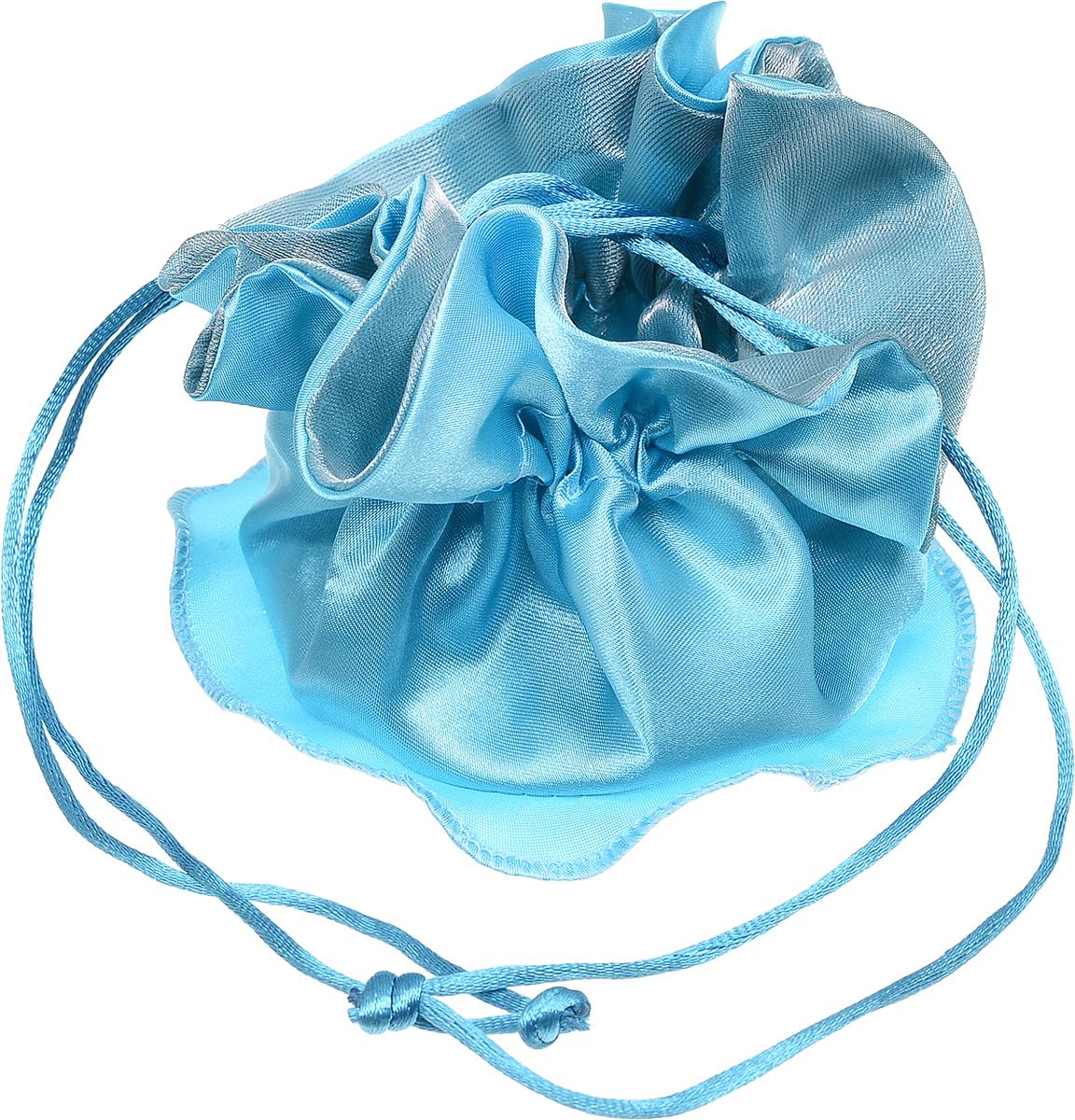 Мешочек для подарка Piovaccari Флу, цвет: голубой, 25 х 25 см1899 07Мешочек для подарка Piovaccari Флу, изготовленный из прозрачного полиэстера, позволит положить внутрь небольшой сувенир, украшение или маленькую игрушку и сделает момент вручения подарка по-настоящему интригующим и торжественным.