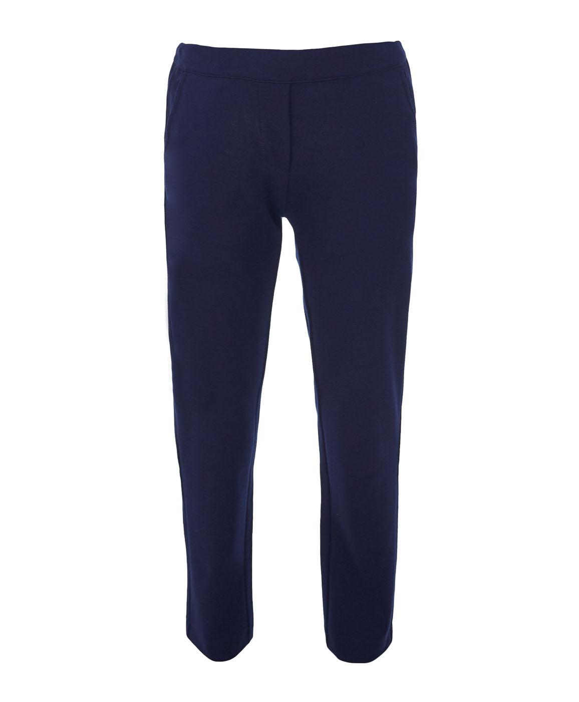 Брюки для девочки Button Blue, цвет: темно-синий. 217BBGS56021000. Размер 128, 8 лет рубашка для мальчика button blue цвет белый 217bbbc23010213 размер 128 8 лет