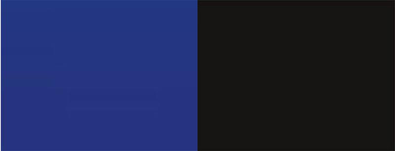 Фон аквариумный Barbus Синий 3D. Черный 3D, двухсторонний, 60 см х 124 см