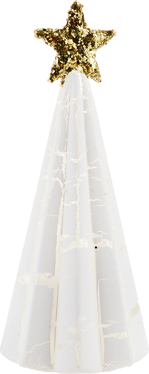 Фигурка декоративная Magic Time Елочка с золотой звездой, с подсветкой, высота 17 см. 75860 magic time елочка в круге