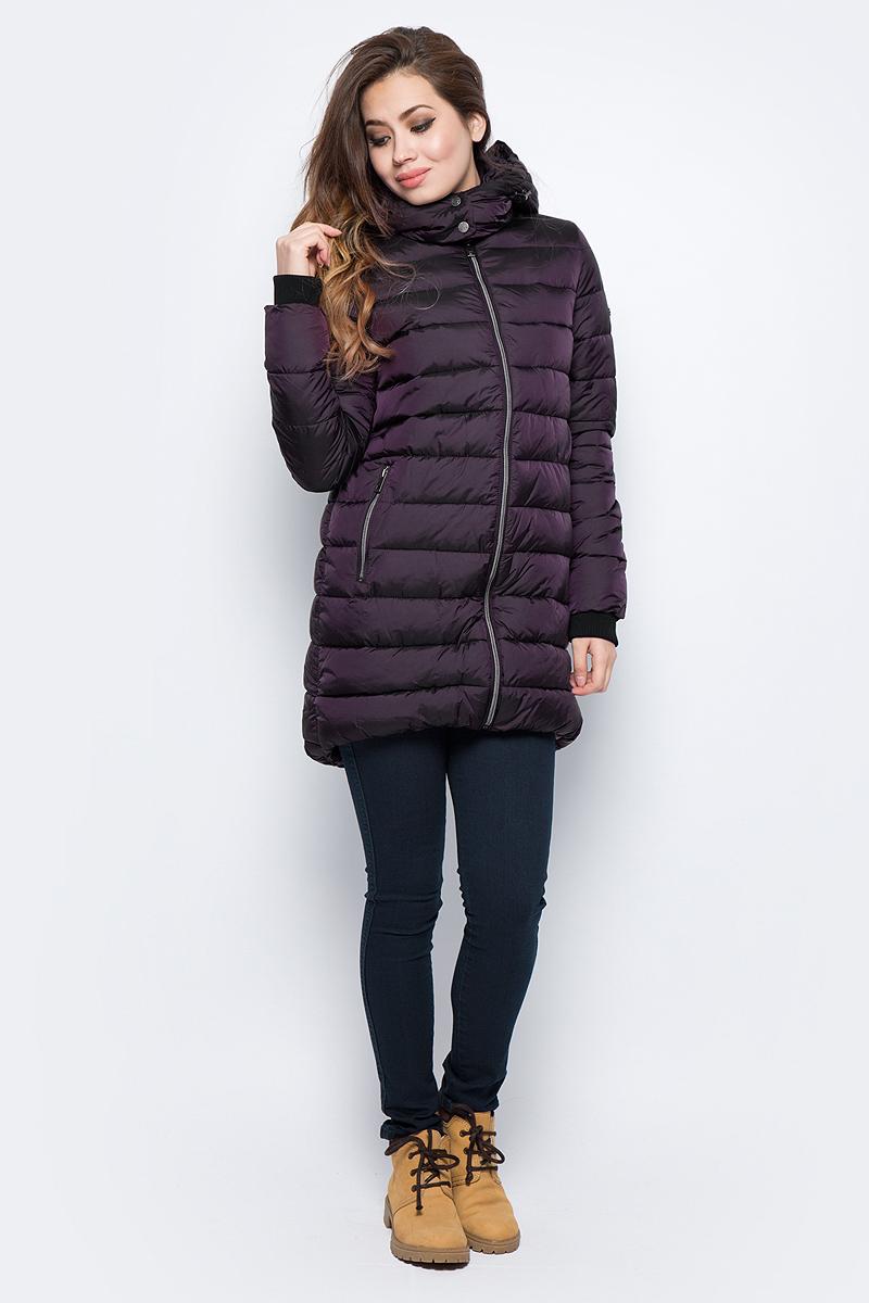 Куртка женская Grishko, цвет: бордовый. AL - 3296. Размер 46AL - 3296Куртка прямого кроя с прорезными карманами. Теплый глубокий капюшон и комфортная до середины бедра длина сделают эту куртку незаменимой вещью в холодную погоду. Утеплитель - 100% микрофайбер. Микрофайбер - это утеплитель нового поколения, который отличается повышенной теплоизоляцией, антибактериальными свойствами, долговечностью в использовании,и необычайно легок в носке и уходе. Изделие легко стирается в машинке, не теряя первоначального внешнего вида. Комфортная температура носки до минус 15 градусов.