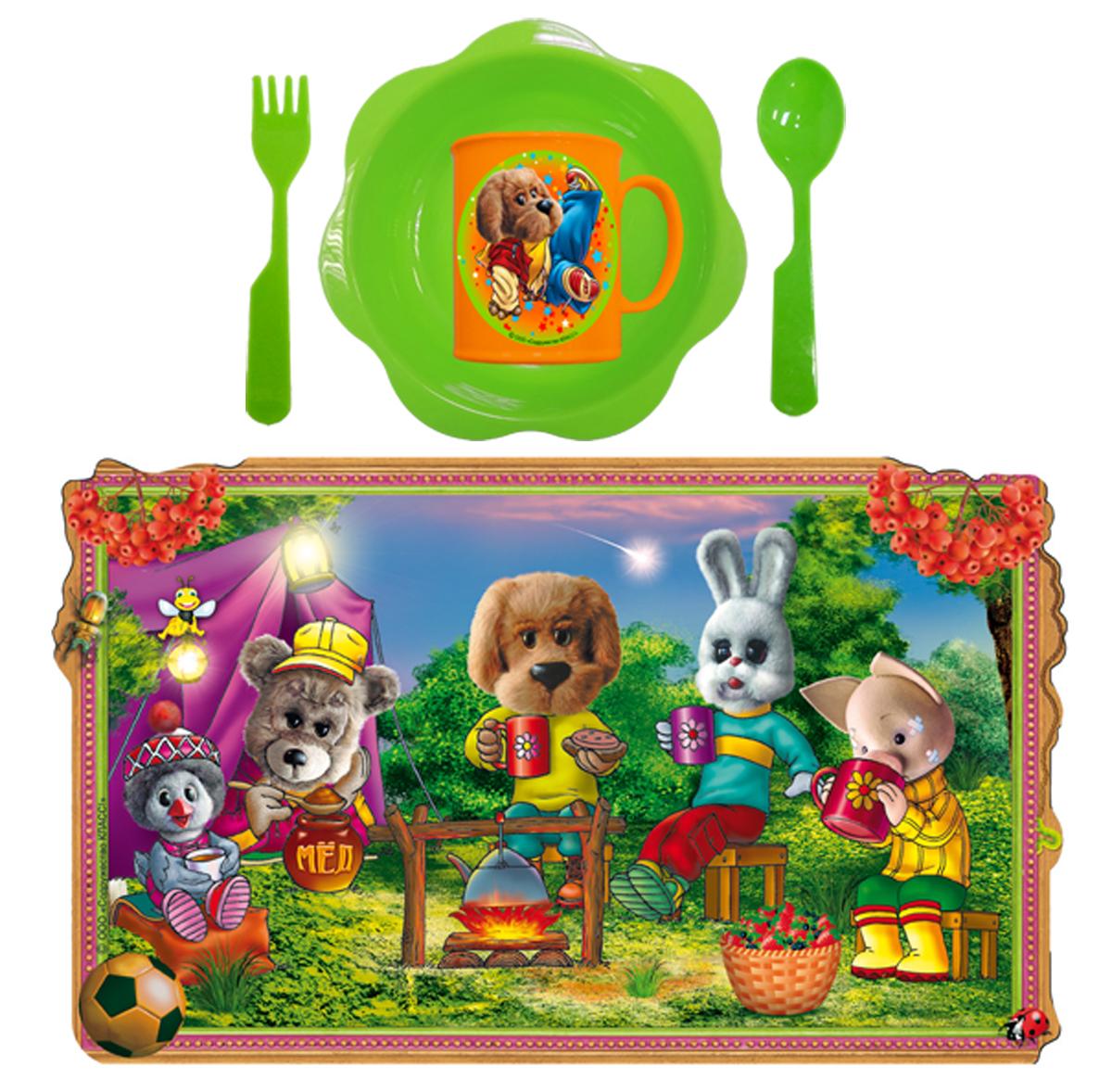 Набор детской посуды Филя брэйк дэнс 5 предметов Н5СП10