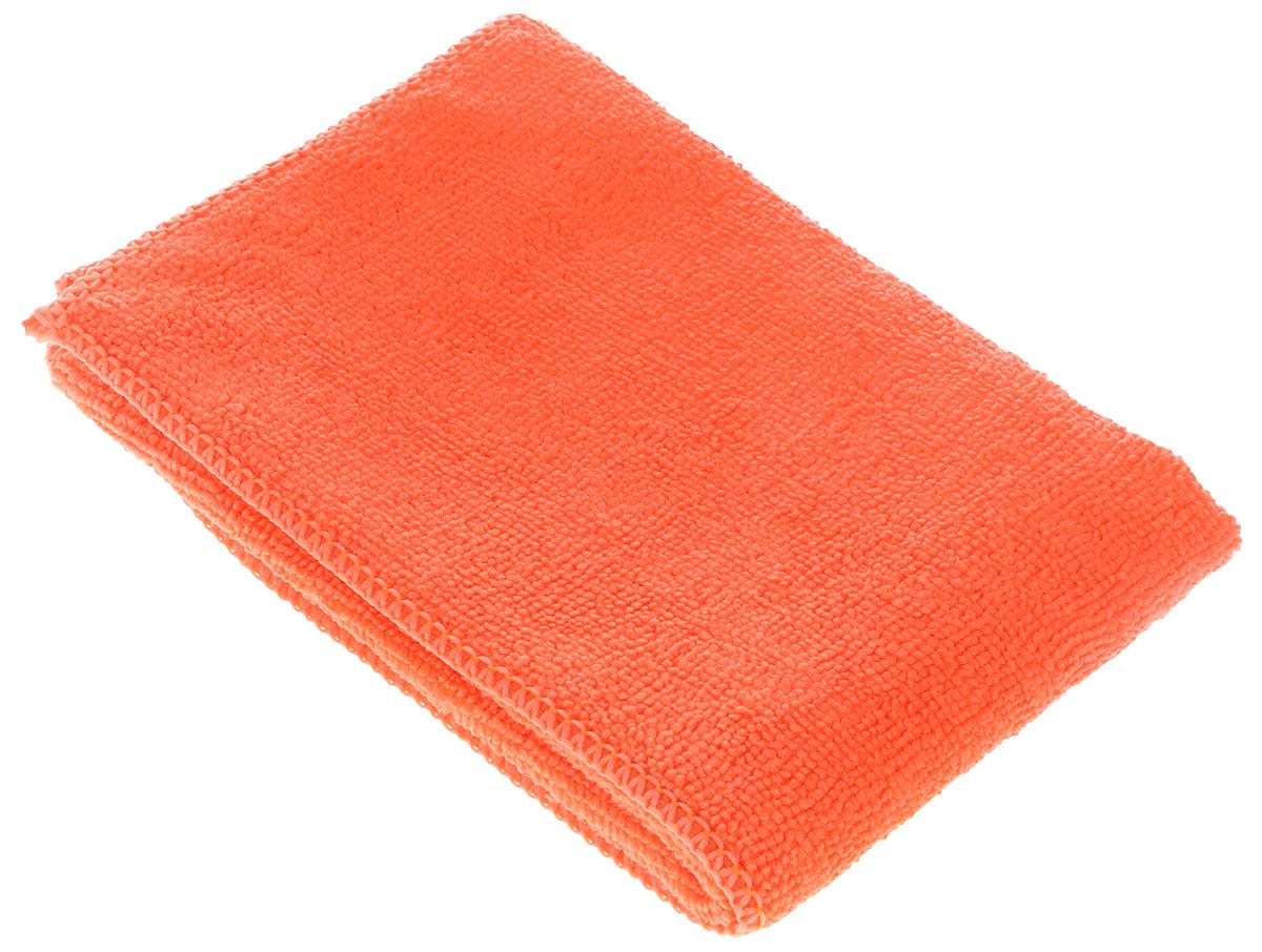 Салфетка чистящая для мытья и полировки автомобиля Sapfire Netting Cloth, цвет: оранжевый, 35 х 35 см3002-SFM_оранжевыйСалфетка Sapfire Netting Cloth, выполненная из высококачественной микрофибры (80% полиэстер, 20% полиамид), предназначена для очистки сложноудаляемых загрязнений. С одной стороны салфетка покрыта сеткой. Благодаря своей сетчатой структуре она эффективно удаляет с твердых поверхностей засохшую грязь, смолу и почки деревьев, прилипших насекомых.Клиновидные микроскопические волокна захватывают и легко удерживают частички пыли, жировой и никотиновый налет, микроорганизмы, в том числе болезнетворные и вызывающие аллергию. Салфетка из микрофибры обладает уникальной способностью быстро впитывать большой объем жидкости (в 8 раз больше собственной массы). Салфетка великолепно моет и сушит. Протертая поверхность становится идеально чистой, сухой, блестящей, без разводов и ворсинок.Технология изготовления микрофибры Сапфир гарантирует великолепные чистящие и адсорбирующие свойства, повышенную мягкость, плотность и длительность использования.