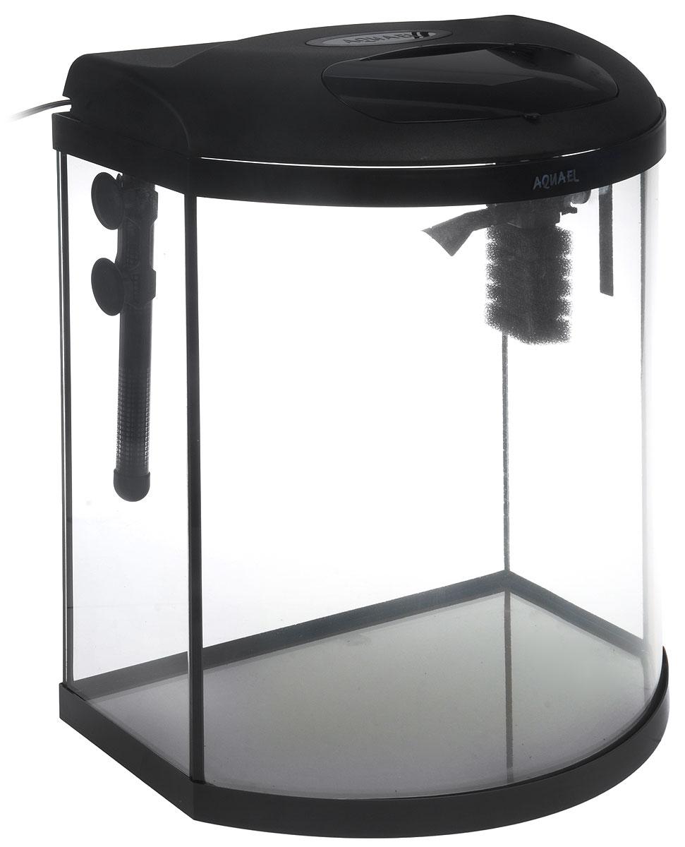 Aквариум Aquael Pearl High 40, фигурный, 32 л113277Aquael Pearl High 40 - идеально сбалансированный аквариумный комплекс, который отличается от большинства существующих на данный момент аквариумов, за счет своей увеличенной высоты. Он обладает множеством преимуществ, например, при размещении он будет занимать меньше места, чем такие же аквариумы с идентичным литражом. Увеличение высоты аквариума, повлекло и увеличение объема, поэтому он идеально впишется в условия где нужно будет занимать меньше места и при этом обладать большим объемом. Благодаря модификации Pearl High он выглядит более эффектно и будет украшением для любого интерьера.Аквариум Aquael Pearl High 40, выполненный из стекла, имеет овальную форму и оснащен всем необходимым оборудованием, которое нужно для комфортного обитания ваших рыбок. Очистка воды в аквариуме обеспечивается за счет внутреннего фильтра Pat Mini, обладающего высокой степенью очистки. Аквариумная крышка оборудована освещением серии, которое отличается своей повышенной светоотдачей и высокой экономичностью.Поддержка температуры производится с точностью до + - 1 градуса. Регулировку и выбор температуры можно производить от +18°С до +36°С. Нагреватель является водонепроницаемым, поэтому его можно использовать полностью, погружая под воду. Энергосберегающее светодиодное освещение Leddy Tube.Комплектация:- Внутренний фильтр Pat Mini.- Обогреватель Comfort Zone Gold: 50 Вт.- Светодиодный модуль Leddy Tube Sunny: 6 Вт. Размер аквариума: 43 x 26 x 48 см.Объем: 32 литра.