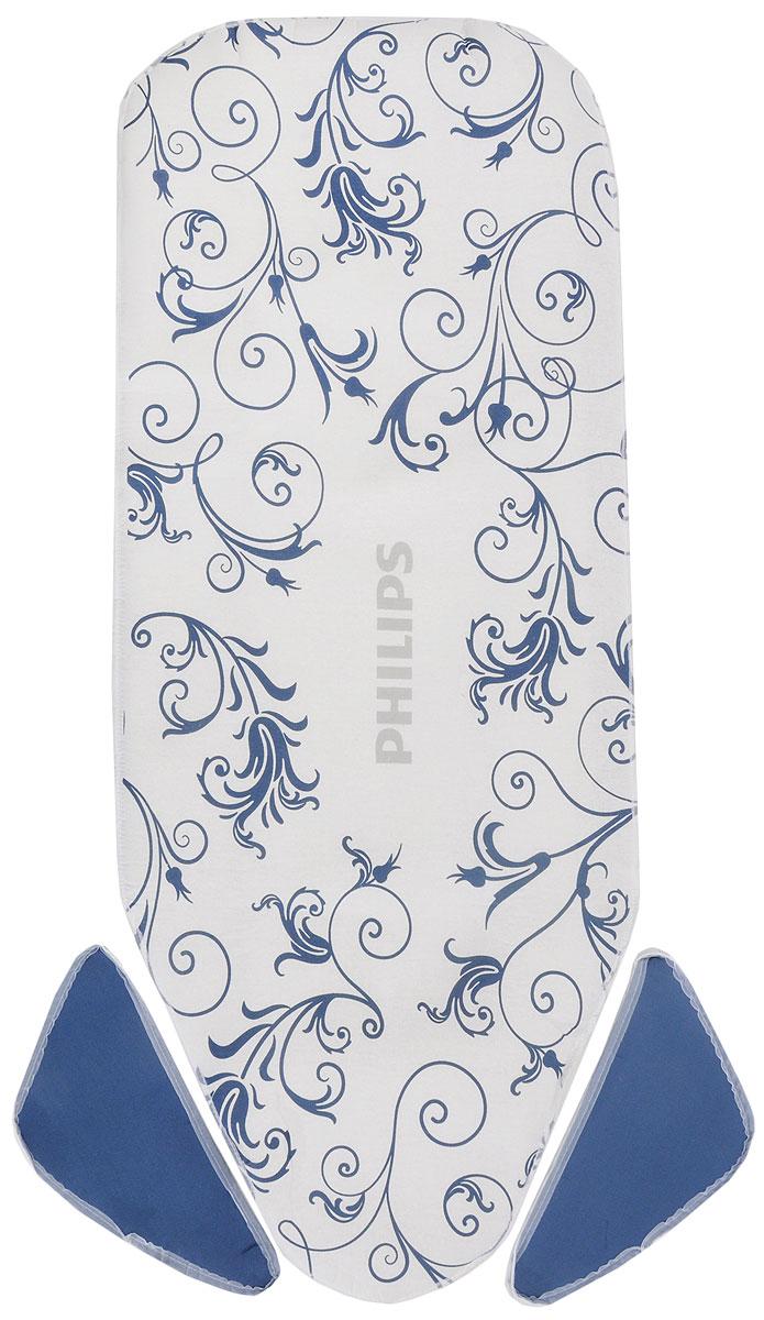 Для продления срока службы используйте запасное покрытие Philips GC020/00 для гладильной доски Easy8, а также покрытие для плечиков ShoulderWings. Покрытие легко разместить и зафиксировать на гладильной доске благодаря специальной системе крепления.  Размер доски 120 x 45 см Размер покрытия 130 x 55 см Второй слой: Пена Плечики ShoulderWings в комплекте Толщина слоя пеноматериала: 3 мм