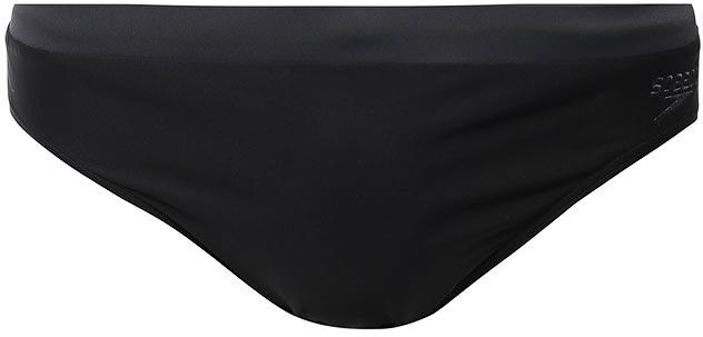 Плавки мужские Speedo Essential Logo 7cm Brief, цвет: черный, серый. 8-104239023-9023. Размер 30 (40/42)8-104239023-9023Спортивные плавки Speedo Essential Logo 7cm Brief с ярким контрастным поясом и крупным лого принтом - отличное решение как для занятий в бассейне, так и для отдыха на пляже. Плавки имеют пояс на мягкой эластичной резинке и удобно садятся по фигуре, обеспечивая комфорт при любых видах активности в воде.Изделие выполнено с использованием технологии Endurance 10, благодаря чему используемый материал в 10 раз более устойчив к разрушающему воздействию хлора, чем обычные ткани с эластаном и спандексом. Высота бокового шва: 7 см.