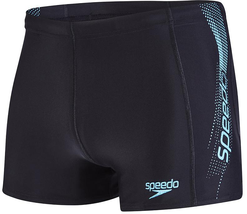 Плавки-шорты мужские Speedo Sports Logo Aquashort, цвет: черный, бирюзовый. 8-09528B874-B874. Размер 30 (40/42)8-09528B874-B874Классические спортивные плавки-шорты с контрастным лого принтом, выполнены из ткани Endurance10, которая в 10 раз более устойчива к разрушающему воздействию хлора, чем обычные ткани с эластаном и спандексом. Сохраняют первоначальные качества день за днем и не теряют формы и цвета благодаря защите от воздействия хлора и ультрафиолета. Тянутся во всех направлениях, обеспечивая тем самым полную свободу движений. Хорошо садятся по фигуре за счет удачного кроя и регулировочного шнурка на талии. Длина бокового шва - 27 см.