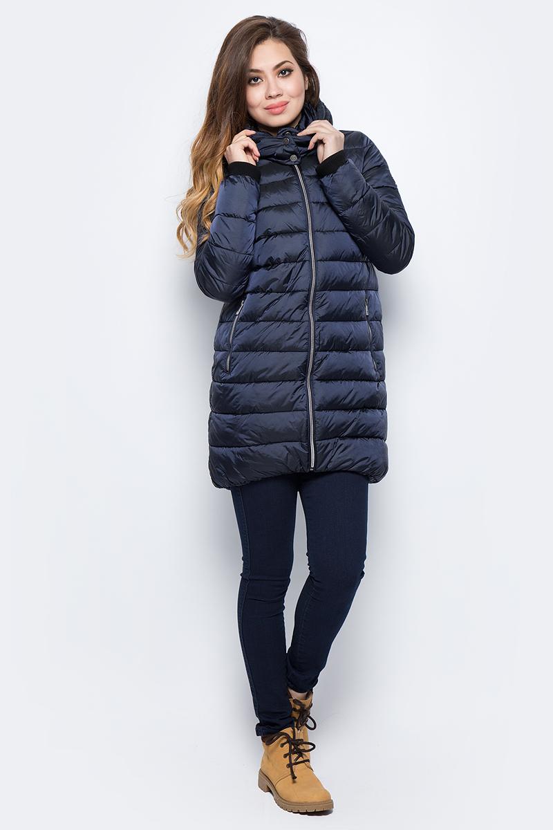 Куртка женская Grishko, цвет: темно-синий. AL - 3296. Размер 44AL - 3296Куртка прямого кроя с прорезными карманами. Теплый глубокий капюшон и комфортная до середины бедра длина сделают эту куртку незаменимой вещью в холодную погоду. Утеплитель - 100% микрофайбер. Микрофайбер - это утеплитель нового поколения, который отличается повышенной теплоизоляцией, антибактериальными свойствами, долговечностью в использовании,и необычайно легок в носке и уходе. Изделие легко стирается в машинке, не теряя первоначального внешнего вида. Комфортная температура носки до минус 15 градусов.