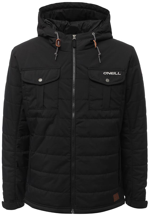 Куртка мужская O'Neill Lm Charged Up Jacket, цвет: черный. 7P3614-9010. Размер S (46/48) худи мужское o neill lm pch salinas hoodie цвет синий 7a1420 5124 размер s 46 48