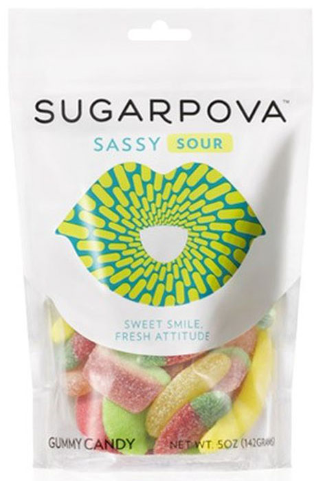 Sugarpova Sassy sour мармелад, 142 гIS10030Sugarpova - премиальная линия оригинальных конфет, созданная теннисисткой Марией Шараповой. Игривые, легкие и современные. Состав продукта: кукуруз. сироп, сахар, желатин, вода, декстроза, ругу-ры кислотности, лимон. кислота, молочная кис-та, лактат натрия, индет. натуральному ароматизаторы:клубника, малина, вишня;галзирователь: карнаубский воск, пальмовое масло, пищевые красители: куркумин, кармин, Е133, экстрат паприки, диоксид титана,Срок хранения (Г): 2 Cтрана производитель: Испания. Вес 142 г.