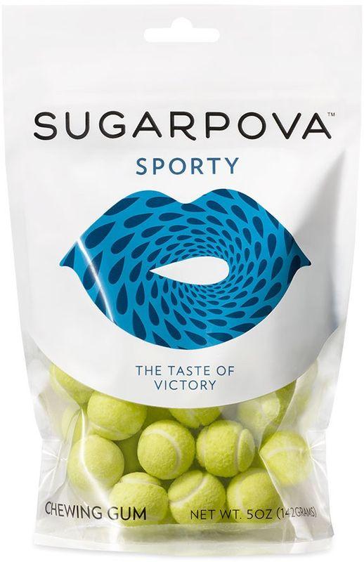 Sugarpova Sporty жевательная резинка, 142 гIS10039Оригинальная жевательная резинка в форме теннисных мячиков обладает настоящим вкусом победы - невероятно сочным, искрящимся, с жизнерадостными и бодрящими лимонно-лаймовыми нотками. Не содержит глютен. Представлена в двух цветовых вариантах - классическом для теннисных мячей ярко-желтом и более романтичном, нежно-розовом. Вес 142 г.Cтрана производитель: Испания.