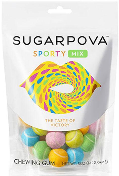 Sugarpova Sporty mix жевательная резинка, 142 гIS10134Оригинальная жевательная резинка обладает настоящим вкусом победы - невероятно сочным, искрящимся, с жизнерадостными и бодрящими лимонно-лаймовыми нотками. Не содержит глютен. . Вес 142 г.Cтрана производитель: Испания.