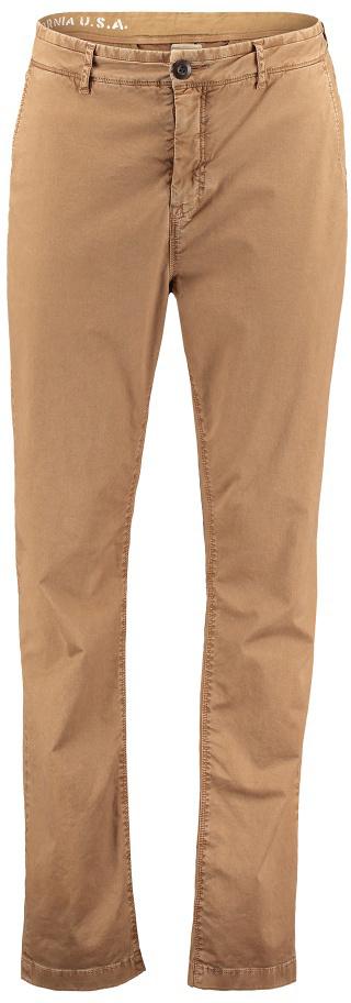 Брюки мужские ONeill Lm Stretch Chino Pants, цвет: коричневый. 7P2705-7031. Размер 30 (46/48)7P2705-7031Мужские брюки от ONeill выполнены из эластичного хлопкового материала. Модель зауженного кроя в поясе застегивается на пуговицу, имеются шлевки для ремня и ширинка на молнии. По бокам модель дополнена втачными карманами, сзади – прорезными.