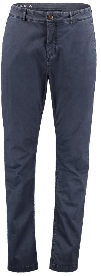 Брюки мужские ONeill Lm Stretch Chino Pants, цвет: синий. 7P2705-5056. Размер 34 (54/56)7P2705-5056Мужские брюки от ONeill выполнены из эластичного хлопкового материала. Модель зауженного кроя в поясе застегивается на пуговицу, имеются шлевки для ремня и ширинка на молнии. По бокам модель дополнена втачными карманами, сзади – прорезными.
