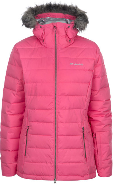 Куртка жен Columbia Ash Meadows Jacket W Ski, цвет: розовый. 1780471-601. Размер XS (42)1780471-601