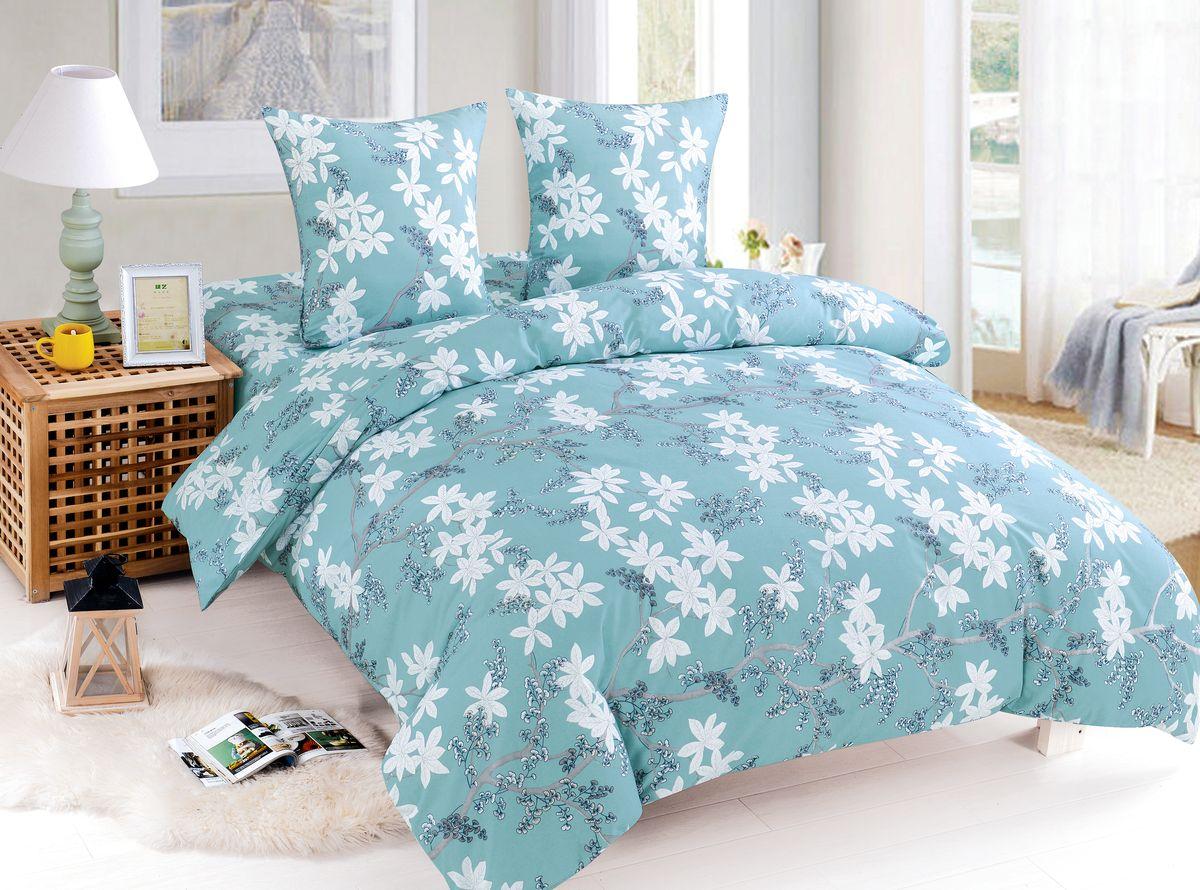 Комплект белья Amore Mio Melanie, 2-спальный, наволочки 70x70. 8406889885Комплект постельного белья Amore Mio состоит из пододеяльника, простынии двух наволочек. Легкая, плотная, мягкая ткань, приятна и практична. Отличностирается, гладится, быстро сохнет. Такой комплект постельного белья украсит любую спальню.