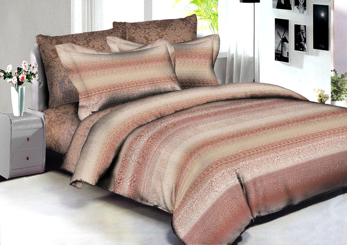 Комплект белья Buenas Noches Bogota, 2-спальный, наволочки 70x70, 50x70, цвет: бежевый, коричневый86578В постельном белье Buenas noches используется сатин премиального качества, плотный, шелковистый, с широким списком исключительных свойств. Яркий насыщенный цвет обеспечен высоким качеством печати устойчивыми гипоаллергенными активными красителями. Аккуратный и качественный пошив на нашем высокотехнологичном производстве. Кнопки на пододеяльнике - наше ноу-хау - обеспечит комфорт и практичность. Богатый выбор классических и современных дизайнов. ригинальный дизайн наволочек не только удобен для сна, но и украшает постель. Наше постельное белье сохраняет первоначальный внешний вид долгие годы. Яркий насыщенный цвет обеспечен высоким качеством печати устойчивыми гипоаллергенными активными красителями. Аккуратный и качественный пошив на нашем высокотехнологичном производстве.Увеличенные размеры простыней Кнопки на пододеяльнике - наше ноу-хау - обеспечит комфорт и практичность. Оригинальный дизайн наволочек не только удобен для сна, но и украшает постель. Наше постельное белье сохраняет пСоветы по выбору постельного белья от блогера Ирины Соковых. Статья OZON Гид