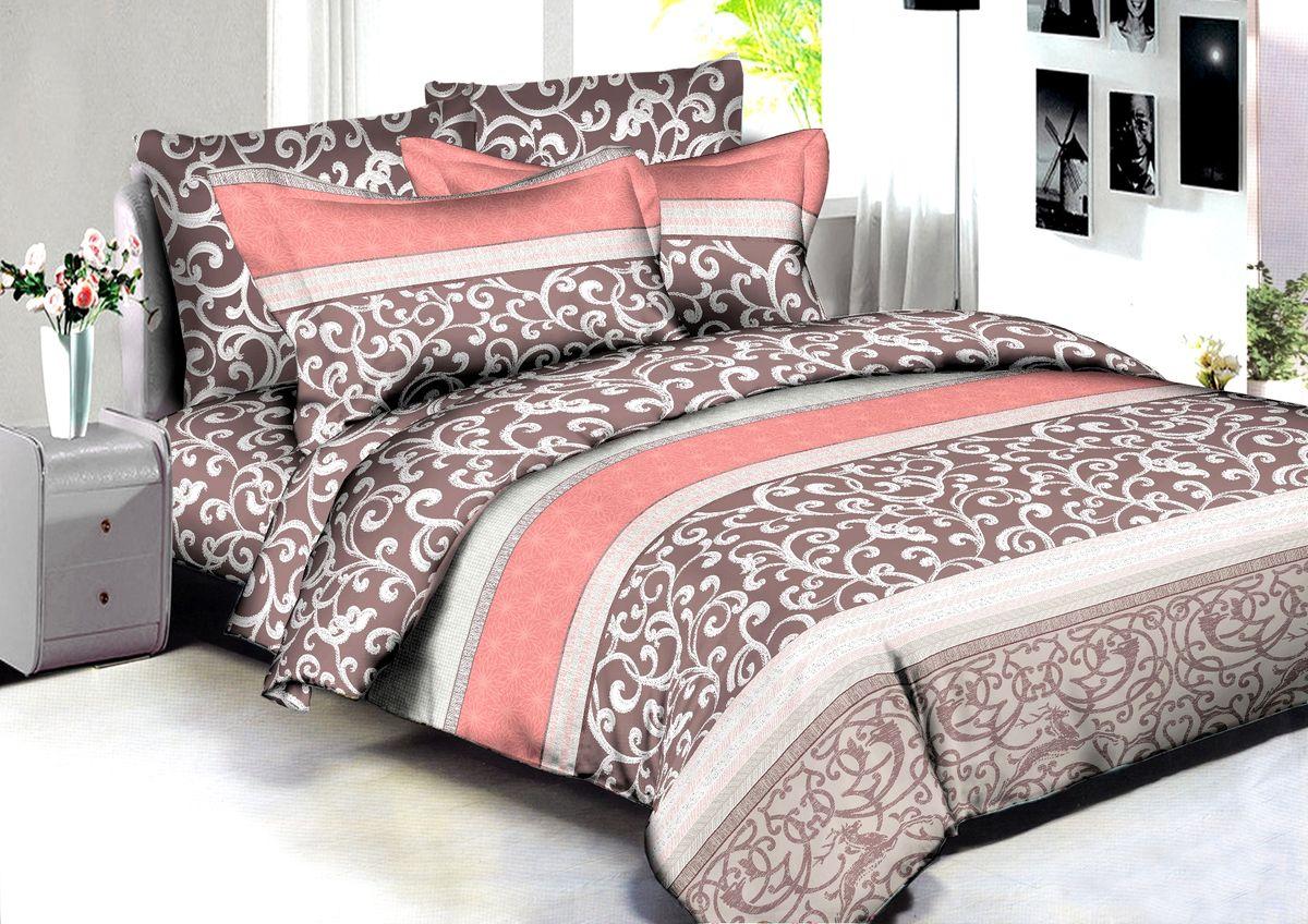 Комплект белья Buenas Noches Pune, 2-спальный, наволочки 70x70, 50x70, цвет: коричневый86587В постельном белье Buenas noches используется сатин премиального качества, плотный, шелковистый, с широким списком исключительных свойств. Яркий насыщенный цвет обеспечен высоким качеством печати устойчивыми гипоаллергенными активными красителями. Аккуратный и качественный пошив на нашем высокотехнологичном производстве. Кнопки на пододеяльнике - наше ноу-хау - обеспечит комфорт и практичность. Богатый выбор классических и современных дизайнов. ригинальный дизайн наволочек не только удобен для сна, но и украшает постель. Наше постельное белье сохраняет первоначальный внешний вид долгие годы.Яркий насыщенный цвет обеспечен высоким качеством печати устойчивыми гипоаллергенными активными красителями. Аккуратный и качественный пошив на нашем высокотехнологичном производстве.Увеличенные размеры простынейКнопки на пододеяльнике - наше ноу-хау - обеспечит комфорт и практичность. Оригинальный дизайн наволочек не только удобен для сна, но и украшает постель. Наше постельное белье сохраняет п