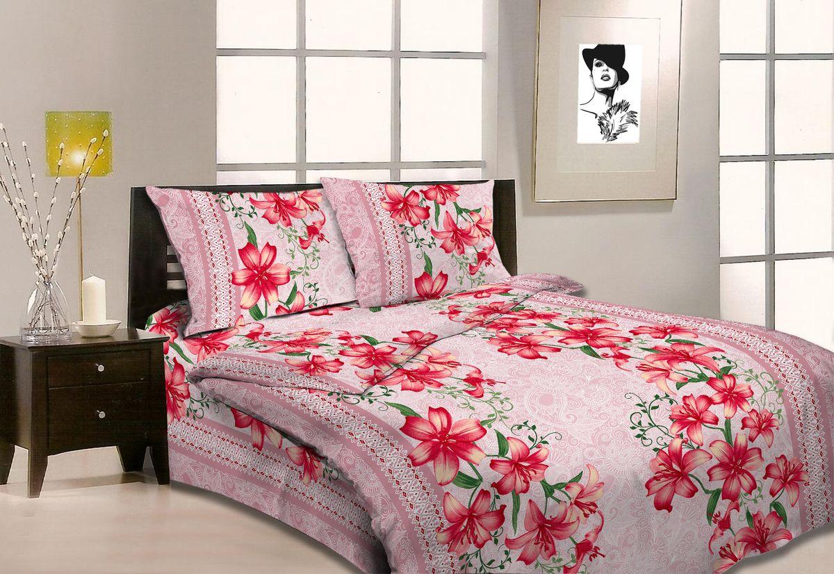 Комплект белья Amore Mio Roza, 1,5-спальный, наволочки 70x70. 8668286682Постельное белье из бязи практично и долговечно, а самое главное - это 100% хлопок! Материал великолепно отводит влагу, отлично пропускает воздух, не капризен в уходе, легко стирается и гладится. Новая коллекция Naturel 3-D дизайнов позволит выбрать постельное белье на любой вкус!