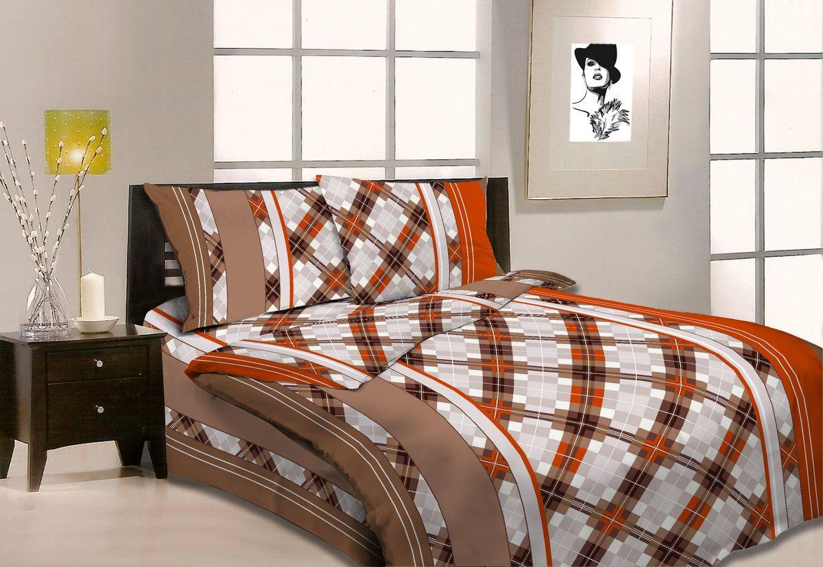 Комплект белья Amore Mio Uzor, 1,5-спальный, наволочки 70x70. 8668686686Постельное белье из бязи практично и долговечно, а самое главное - это 100% хлопок! Материал великолепно отводит влагу, отлично пропускает воздух, не капризен в уходе, легко стирается и гладится. Новая коллекция Naturel 3-D дизайнов позволит выбрать постельное белье на любой вкус!