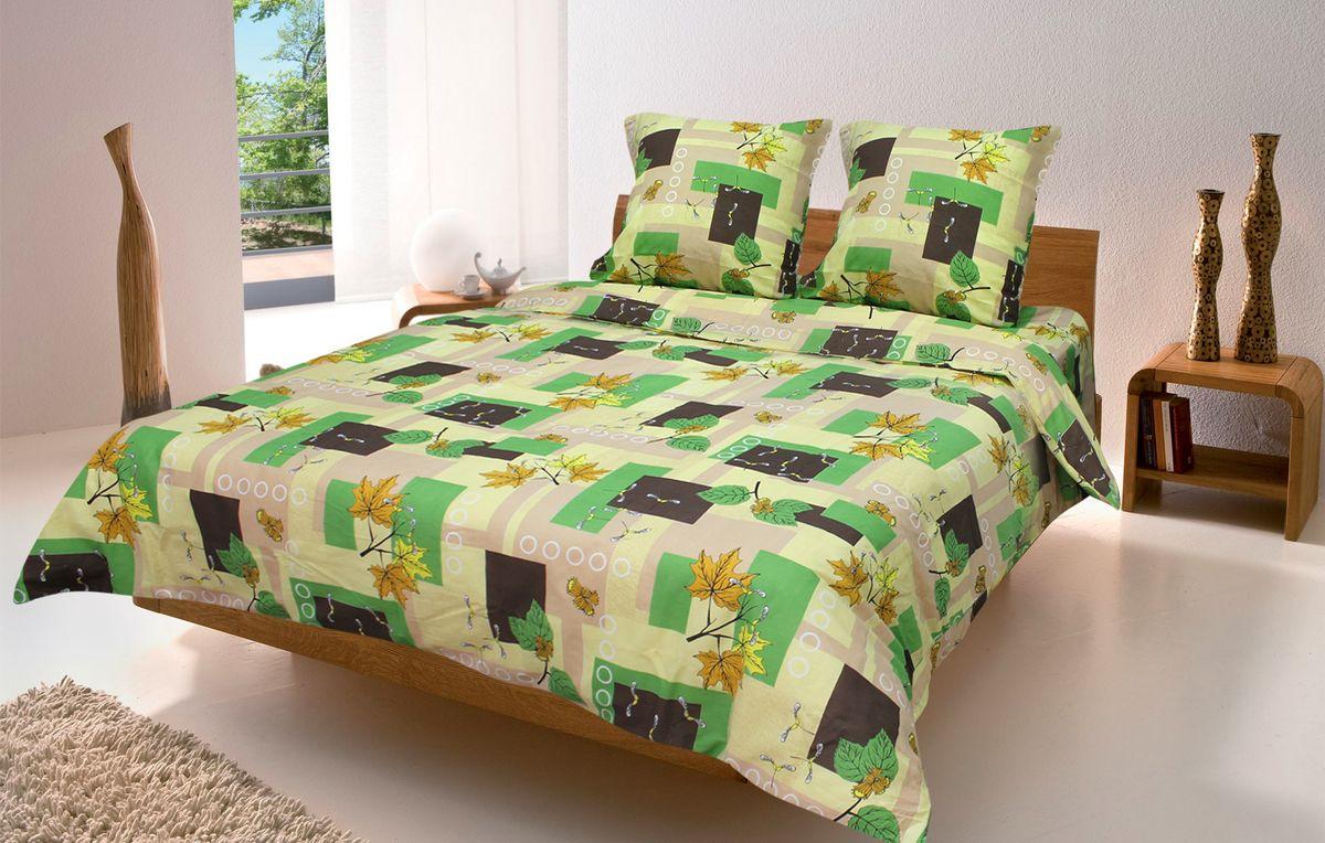 Комплект белья Amore Mio Osen, 1,5-спальный, наволочки 70x70. 8669086690Постельное белье из бязи практично и долговечно, а самое главное - это 100% хлопок! Материал великолепно отводит влагу, отлично пропускает воздух, не капризен в уходе, легко стирается и гладится. Новая коллекция Naturel 3-D дизайнов позволит выбрать постельное белье на любой вкус!