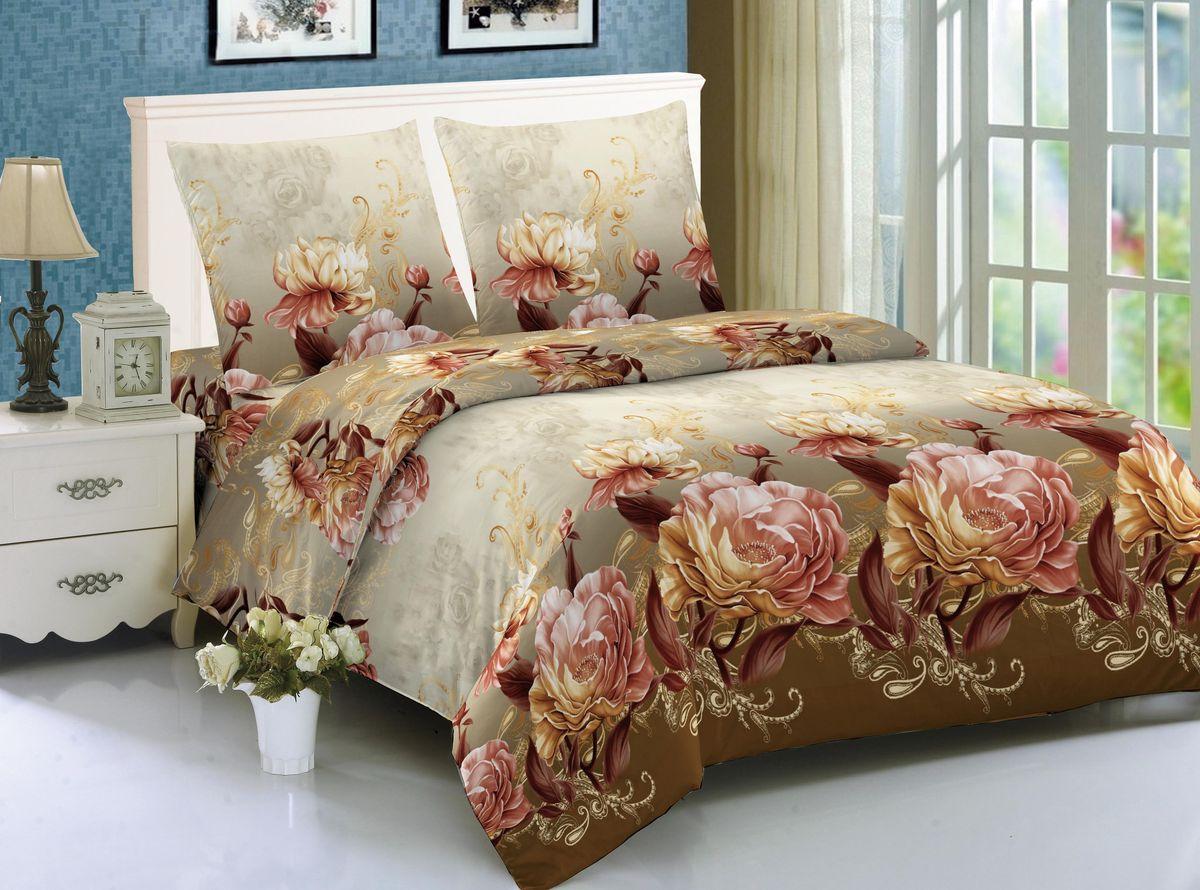 Комплект белья Amore Mio Argos, 1,5-спальный, наволочки 70x70, цвет: коричневый, бежевый88357Amore Mio – Комфорт и Уют - Каждый день! Amore Mio предлагает оценить соотношение цены и качества коллекции. Разнообразие ярких и современных дизайнов прослужат не один год и всегда будут радовать Вас и Ваших близких сочностью красок и красивым рисунком. Мако-сатин - свежее решение, для уюта на даче или дома, созданное с любовью для вашего комфорта и отличного настроения! Нано-инновации позволили открыть новую ткань, полученную, в результате высокотехнологического процесса, сочетает в себе широкий спектр отличных потребительских характеристик и невысокой стоимости. Легкая, плотная, мягкая ткань, приятна и практична с эффектом «персиковой кожуры». Отлично стирается, гладится, быстро сохнет. Дисперсное крашение, великолепно передает качество рисунков.