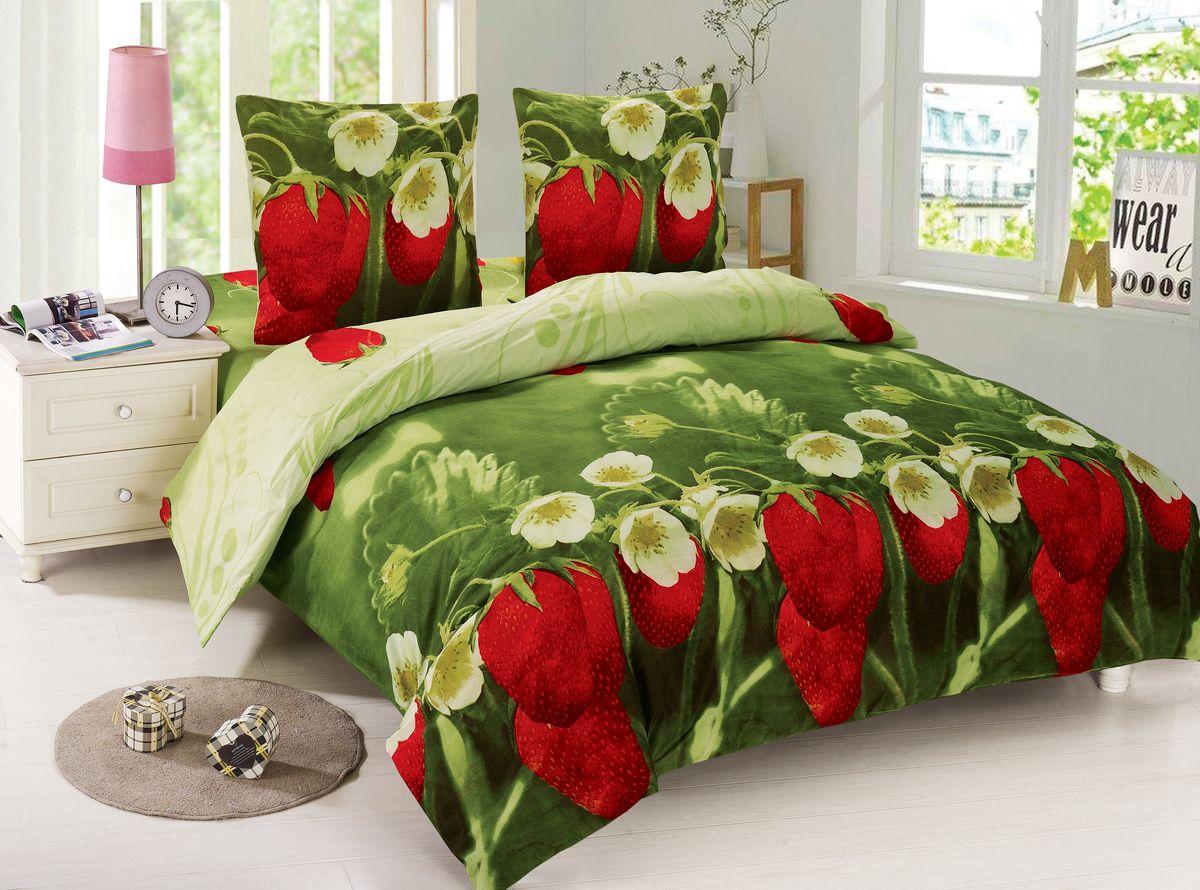 Комплект белья Amore Mio Marta, 1,5-спальный, наволочки 70x70, цвет: красный, зеленый88439Amore Mio – Комфорт и Уют - Каждый день! Amore Mio предлагает оценить соотношение цены и качества коллекции. Разнообразие ярких и современных дизайнов прослужат не один год и всегда будут радовать Вас и Ваших близких сочностью красок и красивым рисунком. Мако-сатин - свежее решение, для уюта на даче или дома, созданное с любовью для вашего комфорта и отличного настроения! Нано-инновации позволили открыть новую ткань, полученную, в результате высокотехнологического процесса, сочетает в себе широкий спектр отличных потребительских характеристик и невысокой стоимости. Легкая, плотная, мягкая ткань, приятна и практична с эффектом «персиковой кожуры». Отлично стирается, гладится, быстро сохнет. Дисперсное крашение, великолепно передает качество рисунков.Советы по выбору постельного белья от блогера Ирины Соковых. Статья OZON Гид