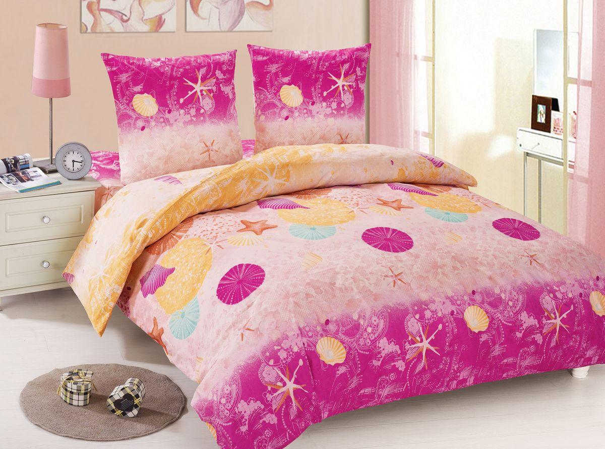 Комплект белья Amore Mio Polina, 1,5-спальный, наволочки 70x70, цвет: розовый, желтый88441Amore Mio – Комфорт и Уют - Каждый день! Amore Mio предлагает оценить соотношение цены и качества коллекции. Разнообразие ярких и современных дизайнов прослужат не один год и всегда будут радовать Вас и Ваших близких сочностью красок и красивым рисунком. Мако-сатин - свежее решение, для уюта на даче или дома, созданное с любовью для вашего комфорта и отличного настроения! Нано-инновации позволили открыть новую ткань, полученную, в результате высокотехнологического процесса, сочетает в себе широкий спектр отличных потребительских характеристик и невысокой стоимости. Легкая, плотная, мягкая ткань, приятна и практична с эффектом «персиковой кожуры». Отлично стирается, гладится, быстро сохнет. Дисперсное крашение, великолепно передает качество рисунков.Советы по выбору постельного белья от блогера Ирины Соковых. Статья OZON Гид