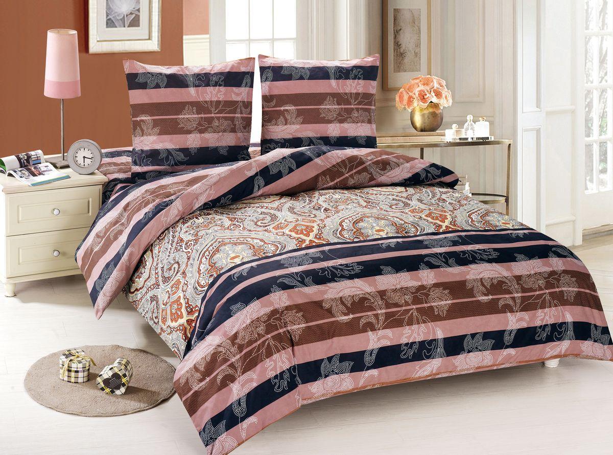 Комплект белья Amore Mio Nora, 2-спальный, наволочки 70x70, цвет: коричневый, черный, розовый88480Amore Mio – Комфорт и Уют - Каждый день! Amore Mio предлагает оценить соотношение цены и качества коллекции. Разнообразие ярких и современных дизайнов прослужат не один год и всегда будут радовать Вас и Ваших близких сочностью красок и красивым рисунком. Мако-сатин - свежее решение, для уюта на даче или дома, созданное с любовью для вашего комфорта и отличного настроения! Нано-инновации позволили открыть новую ткань, полученную, в результате высокотехнологического процесса, сочетает в себе широкий спектр отличных потребительских характеристик и невысокой стоимости. Легкая, плотная, мягкая ткань, приятна и практична с эффектом «персиковой кожуры». Отлично стирается, гладится, быстро сохнет. Дисперсное крашение, великолепно передает качество рисунков.