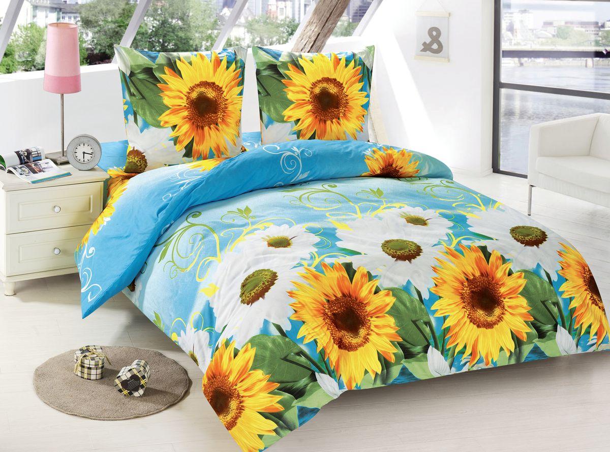 Комплект белья Amore Mio Rimma, 2-спальный, наволочки 70x70, цвет: голубой, желтый, белый, зеленый88484Amore Mio – Комфорт и Уют - Каждый день! Amore Mio предлагает оценить соотношение цены и качества коллекции. Разнообразие ярких и современных дизайнов прослужат не один год и всегда будут радовать Вас и Ваших близких сочностью красок и красивым рисунком. Мако-сатин - свежее решение, для уюта на даче или дома, созданное с любовью для вашего комфорта и отличного настроения! Нано-инновации позволили открыть новую ткань, полученную, в результате высокотехнологического процесса, сочетает в себе широкий спектр отличных потребительских характеристик и невысокой стоимости. Легкая, плотная, мягкая ткань, приятна и практична с эффектом «персиковой кожуры». Отлично стирается, гладится, быстро сохнет. Дисперсное крашение, великолепно передает качество рисунков.Советы по выбору постельного белья от блогера Ирины Соковых. Статья OZON Гид