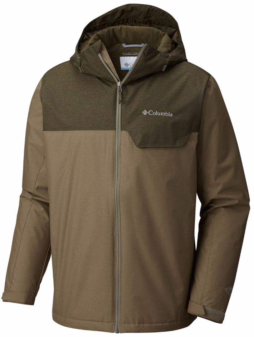 Куртка мужская Columbia Huntsville Peak Novelty Jacket M, цвет: хаки. 1737741-365. Размер XL (52/54) полукомбинезон columbia widgeon bid хаки камыш