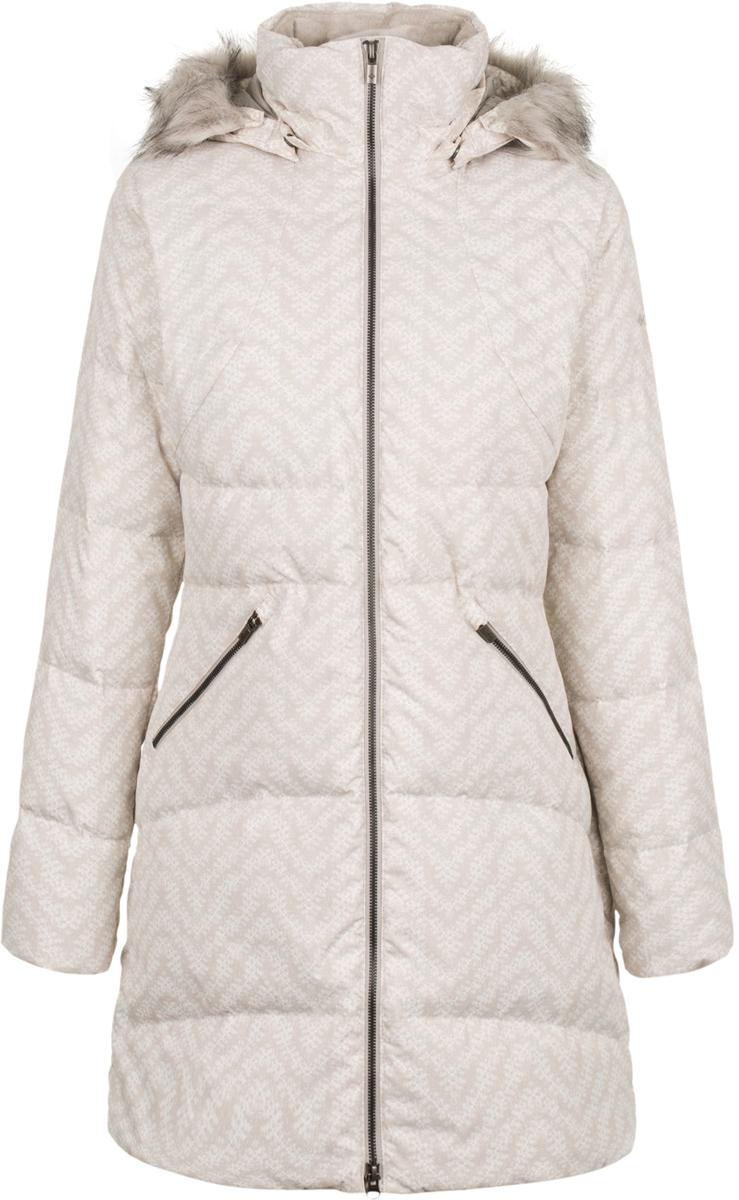 Пуховик женский Columbia Varaluck Mid Hdd Down Jacket W, цвет: серый. 1742951-020. Размер XS (42) съемный hdd