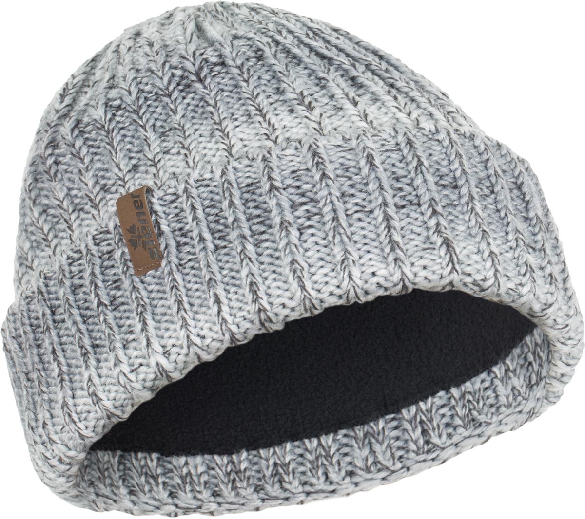 Шапка женская Ziener Ikupika, цвет: серый меланж. 170084-823. Размер универсальный170084-823Вязаная шапка Ziener Ikupika выполнена из акрила. Модель оформлена декоративным отворотом.