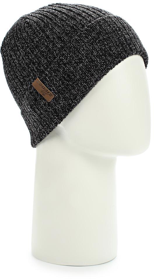 Шапка мужская Ziener Iconoclast Hat, цвет: черный. 170046-12. Размер универсальный170046-12Шапка мужская Ziener Iconoclast Hatвыполнена из акрила и шерсти. Модель оформлена отворотом.
