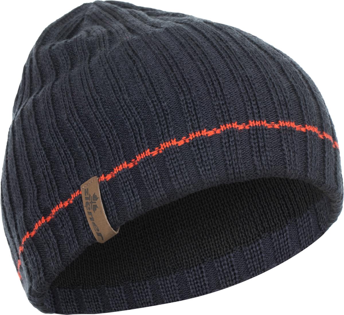 Шапка мужская Ziener Irgot Sm Hat, цвет: темно-синий. 170044-964. Размер универсальный170044-964