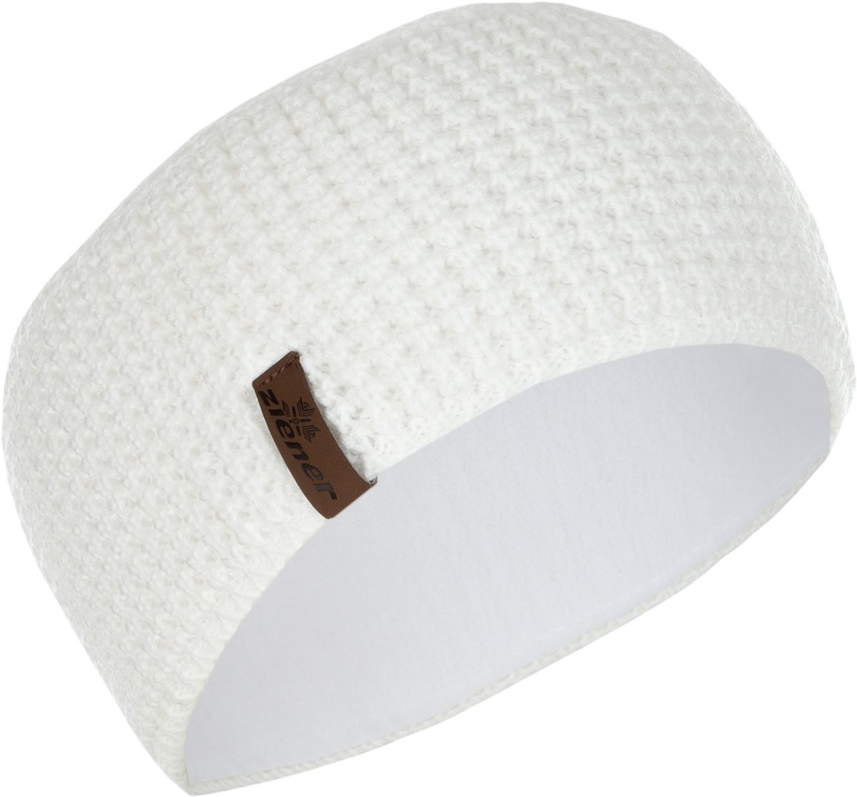 Повязка на голову Ziener Ilse Band, цвет: белый. 170041-01. Размер универсальный170041-01