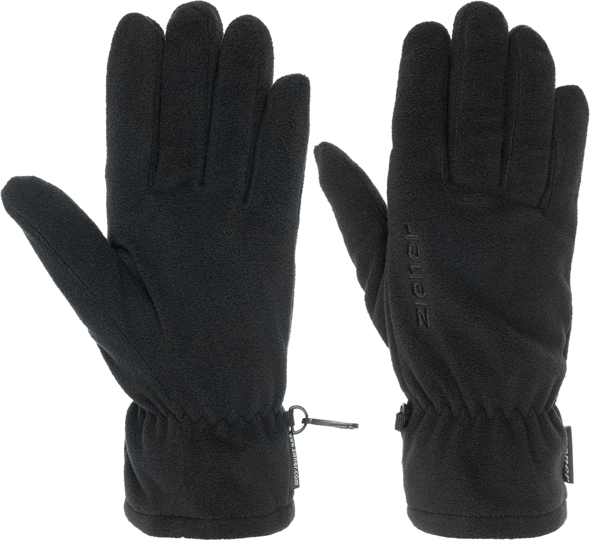 Перчатки Ziener Ibro Glove Multisport, цвет: черный. 170027-12. Размер L (9,5)170027-12