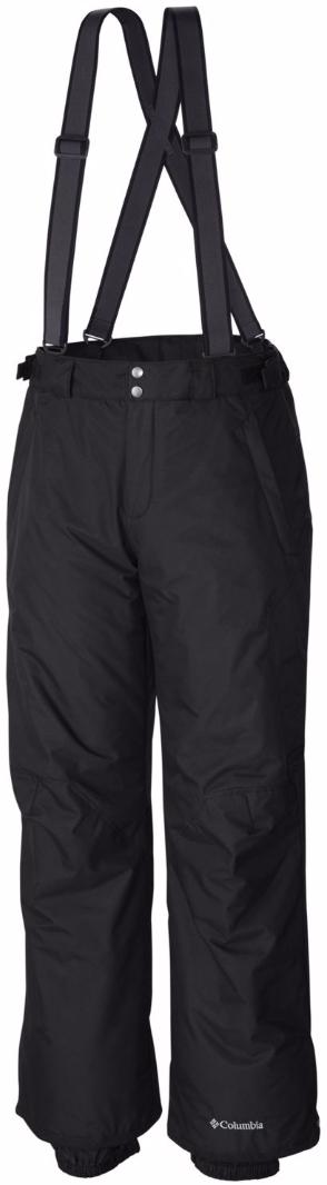 Брюки спортивные муж Columbia Bugaboo Oh Suspender Pant Ski Pants, цвет: черный. 1629911-010. Размер L (48/50)1629911-010