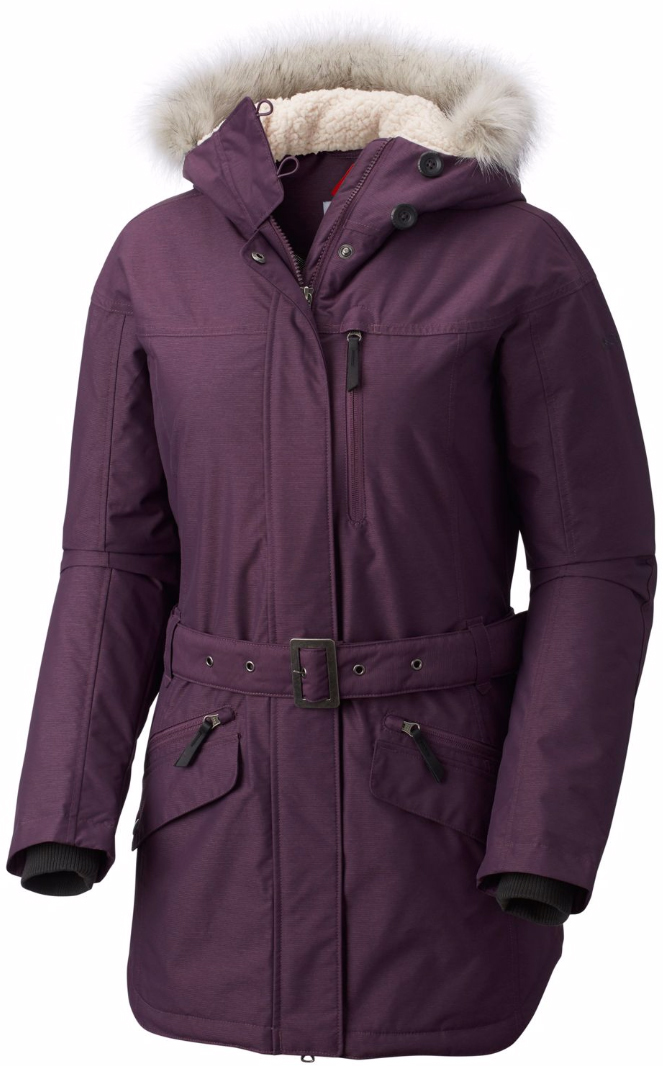 Куртка жен Columbia Carson Pass Ii Jacket W, цвет: пурпурный. 1515501-501. Размер L (48)1515501-501Carson Pass™ Jacket - женская удлиненная куртка с мембраной Omni-Tech и утеплителем Omni-Heat олично подойдет для зимы. Мембрана Omni-Tech защищает от влаги и ветра и в тоже время обеспечивает естественную вентиляцию. Утеплитель и подкладка Omni-Heat сохраняет тепло внутри изделия. Проклеенные швы в критических местах, фиксированный регулируемый капюшон, со съемным искусственным мехом, вшитые эластичные манжеты -обеспечивают дополнительный комфотр в холодную погоду.