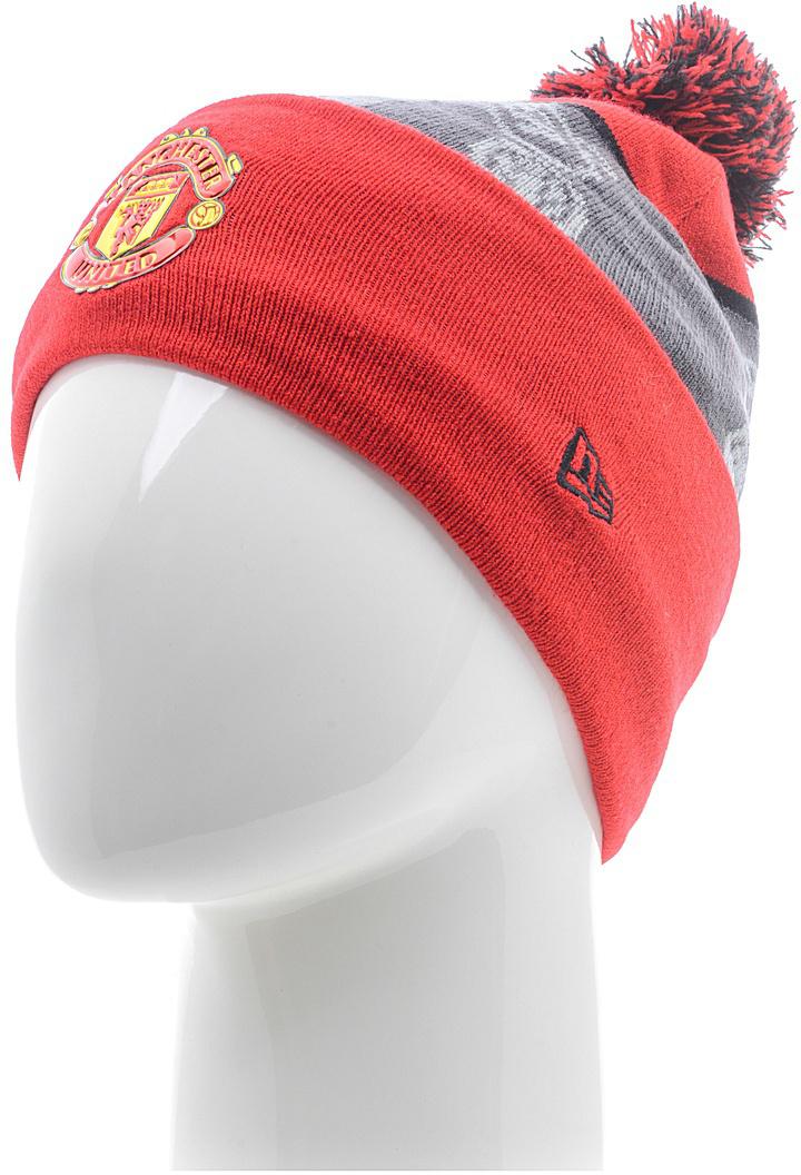 Шапка New Era Manutd, цвет: красный. 11458463-SCA. Размер универсальный11458463-SCAШапка с широким отворотом на подкладке выполнена из комбинированного материала. Модель оформлена вышитым логотипом футбольной команды Manchester United. Такая шапка подойдет и для мужчин, и для женщин.