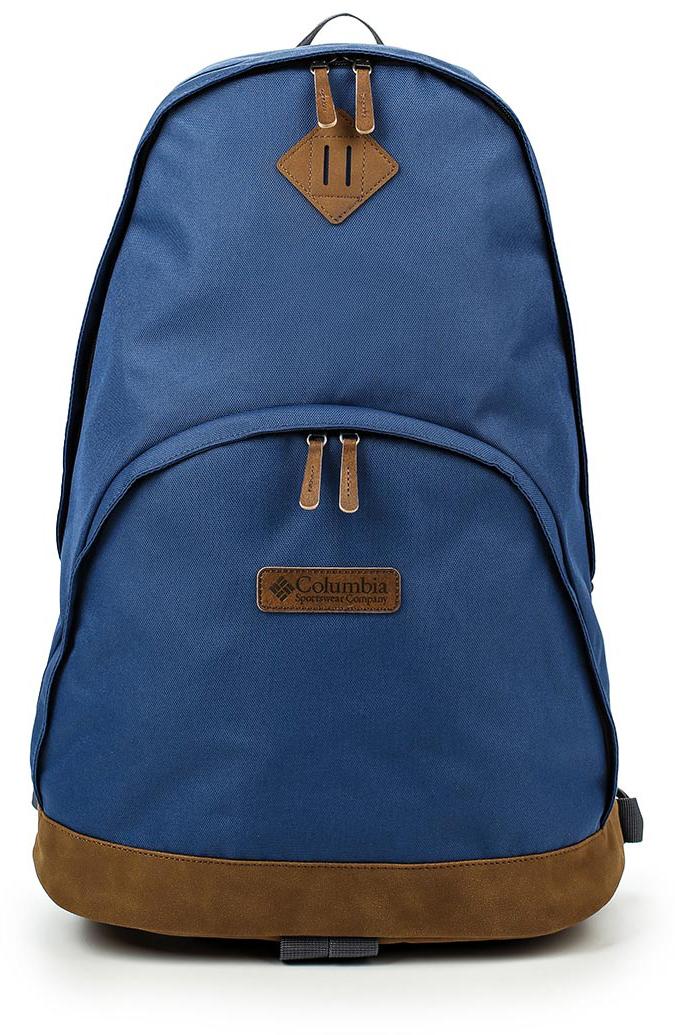 Рюкзак Columbia Classic Outdoor 20l, цвет: синий, 20 л. 1719901-4351719901-435Стильный городской рюкзак Columbia Classic Outdoor 20l выполнен из полиэстера и натуральной замши. Изделие имеет одно основное отделение, которое закрывается на двухзамковую застежку-молнию.Снаружи, на передней стенке расположен накладной карман на застежке-молнии.Рюкзак оснащен широкими мягкими регулирующими лямками и удобной ручкой для переноски в руках. Основание модели оснащено дополнительной текстильной ручкой. Такой рюкзак станет незаменимым в повседневной жизни.
