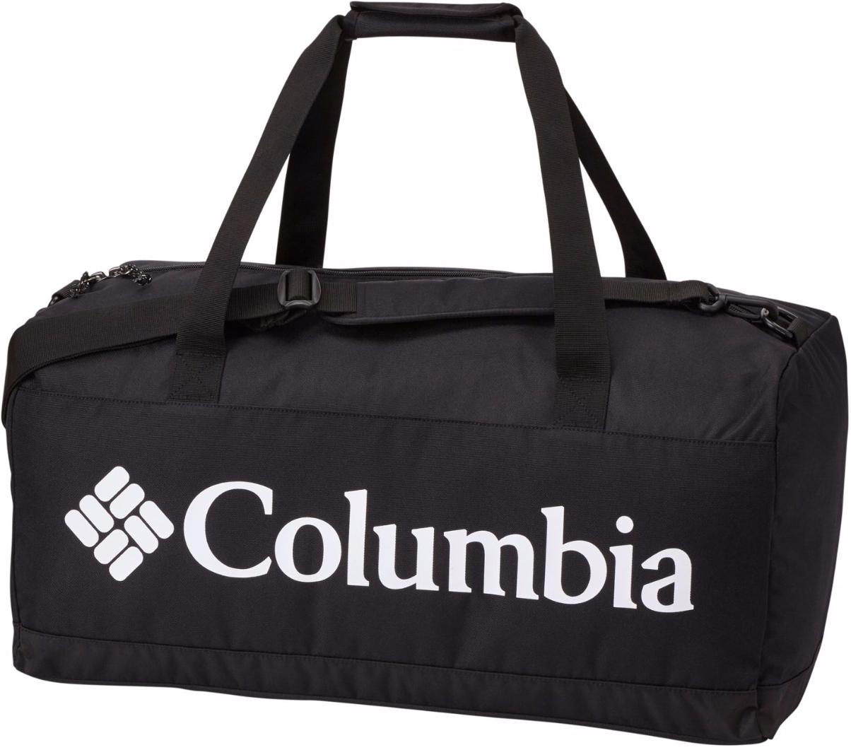 Сумка Columbia Brownsmead Sml Duffel Bag, цвет: черный. 1735811-0101735811-010Сумка Columbia Brownsmead Sml Duffel Bag прочная, легкая, в ней есть все что вам нужно, чтобы нести ваше снаряжение - и ничего вам не нужно - с эластичной полиэфирной тканью 600D, 45 л места для хранения, удобной застежкой-молнией, двумя захватными ручками и съемным плечевым ремнем.