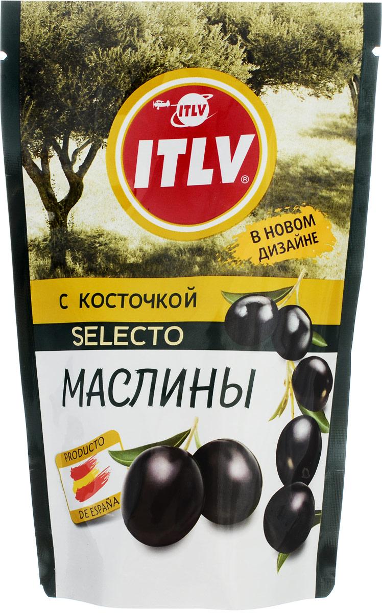 ITLV маслины Selecto с косточкой, 165 г santolino маслины вяленые 400 г